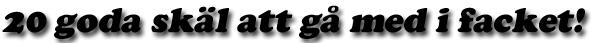 Läs fördelar med facket
